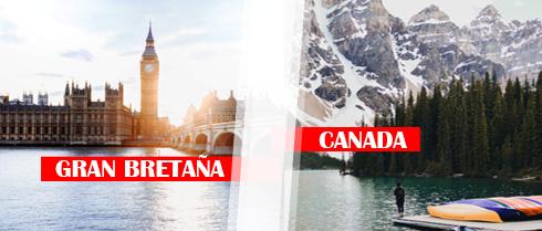 Descuentos de Último Minuto para Canada y UK